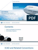 7. ICAO and the Civil Aviation System