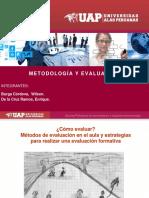 Metodología y Evaluación Wilson y Enrique