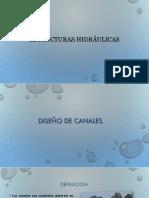 Estructuras Hidraulicas y Saneamiento