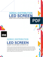 24 GROUP - ADNOC LED Screen Network Presentation With Rate Card