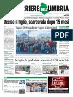 I giornali nazionali e umbri, nella rassegna stampa del 7 novembre 2019