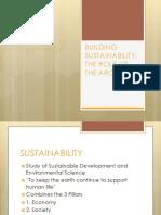Building Sustainability 101