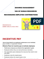 HRM Employee Contribution