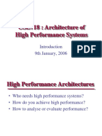 High PerformanceSystems