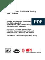 Previews API RP 10B 2 2010 Pre