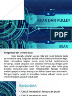 Gear dan Pulley