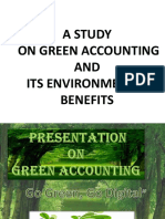 Presentation1 on Green Accounting