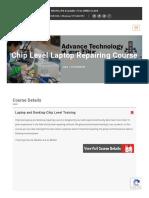 Chip Level Laptop Repairing Institute Delhi