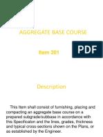 Aggregate Base Course