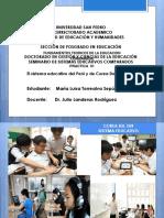 Educacion Corea Del Sur y Peru