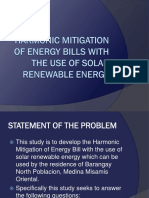 Harmonic Mitigation of Energy Bills With the Use