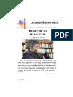 Dedicații Lui Iulian Filip