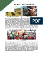 5 Acara Adat Di Indonesia