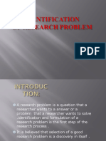 identificationofresearchproblem-160623030112