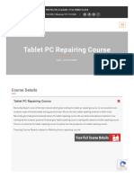 Table PC Repairing Course