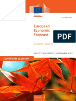 Autumn 19 Economic Forecast