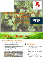 Bio Intensive Gardening