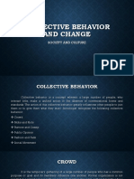 Collective Behavior and Social Change