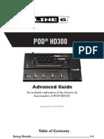 POD HD300 Advanced Guide (Rev B) - English