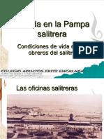 La Vida en La Pampa Salitrera
