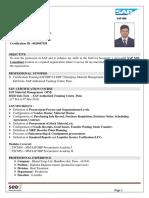 AAshish P. Pore Updated CV1