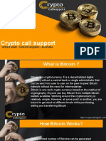 Get Bitcoin support number here