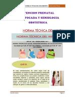 Atencion Prenatal Reenfocada y Semiologia Obstetrica