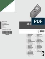 Manual Bosch GLM 40
