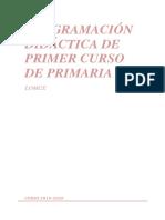 Programación Didáctica 1º 2019-20