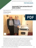 ¿Obsolescencia Programada_ Estos Ancianos Llevan 55 Años Usando La Misma Secadora _ Tecnología _ EL PAÍS