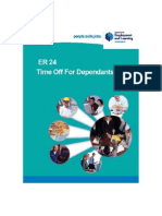 Time Off for Dependants Booklet