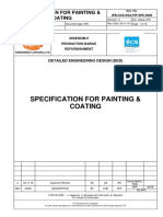 Specification for Painting & Coating