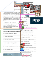 News Flash Reading Comprehension Exercises 12981