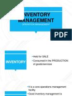Cbme01-Inventory Hr Management