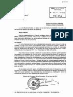 Resolución de la Junta Electoral Central sobre el voto por correo