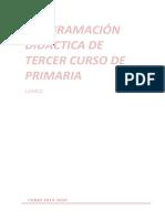 Programación Didáctica 3º 2019-20