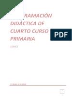 Programación Didáctica 4º 2019-20