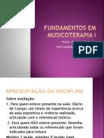 Fundamentos Em Musicoterapia i