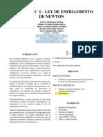 INFORME FISICA II N°2