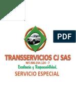 Brochur Cimitarra TRANSSERVICIOS CJ SAS