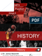 Basketball's History and Position