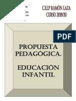 Propuesta Pedagógica Educación Infantil 2019-20
