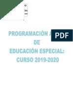 Programación Aulas Educación Especial