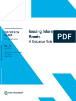 Issuing International Bonds a Guidance Note