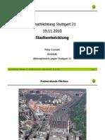 Stuttgart 21 Schlichtung - [5] 2010-11-19 - Peter Conradi Stadtentwicklung