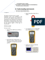 PreLab Understanding Instruments