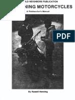 Motorcycle Maintenence-Fieldworkers Manual