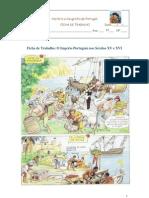 Ficha de Trabalho - Século XV e XVI