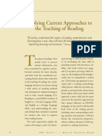 DEBAT, Elba V. Applying current approaches to the teaching of reading.pdf