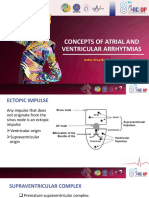 2. Concepts of Atrial and Ventricular Arrhythmias